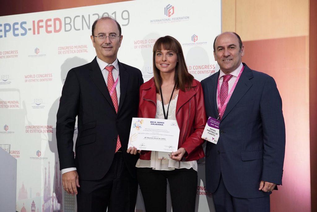Primer premiado Odontología Solidaria SEPES 2019